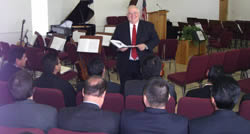 Bible Institute and Seminary class taught by Pastor McCubbins