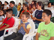 Mexico Mission Vacation Bible School children
