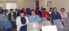 Bible Baptist Church Members at Sunday School